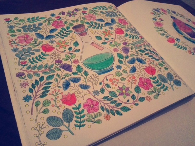 coloring book  - Frugal Gifts