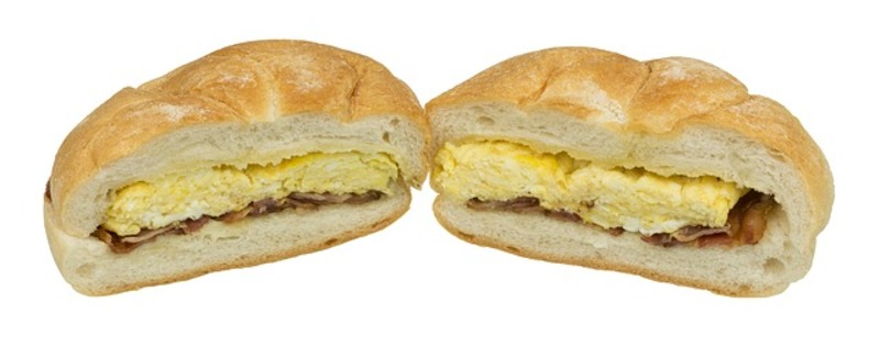 egg sandwich  - Why Pay Astronomically For A Fast Food Breakfast