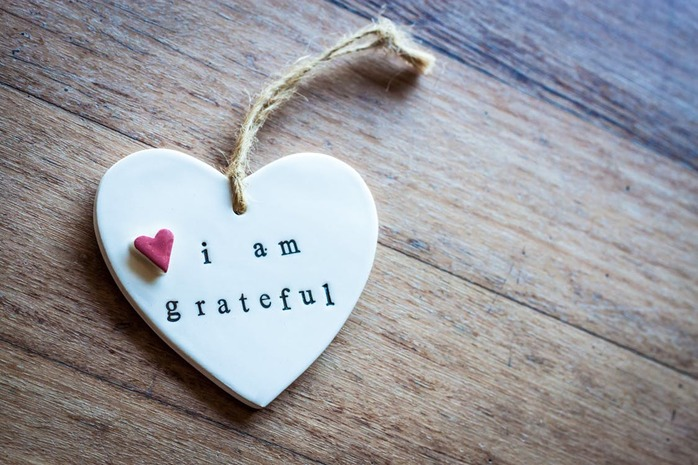 I am grateful heart