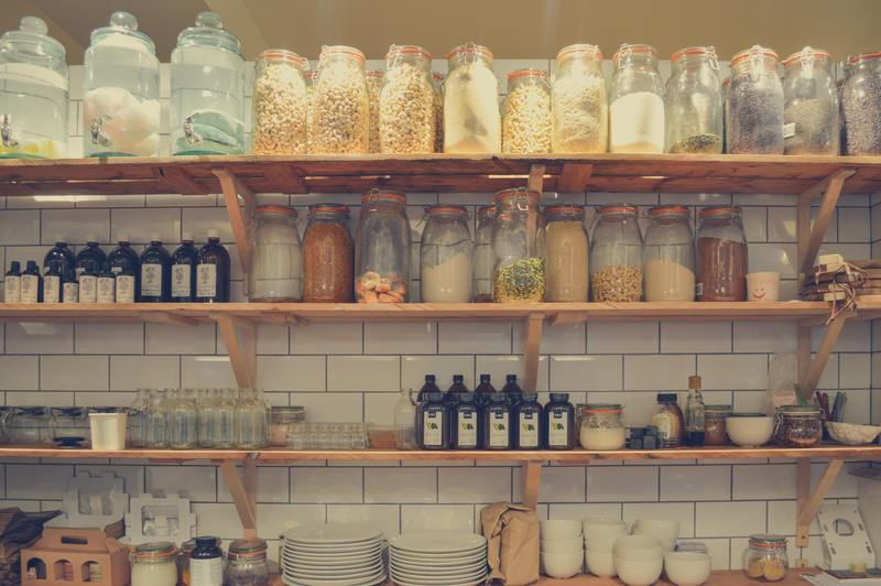 kitchen pantry  - Budget-Friendly Pantry Makeover