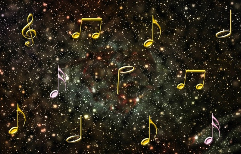 music notes  - Music As White Noise