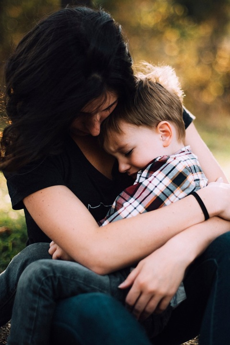 parent and child  - Learning to Bond with an Adopted Child