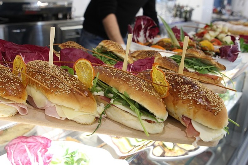 sandwiches  - Party Advice:  Self Serve Food Bars